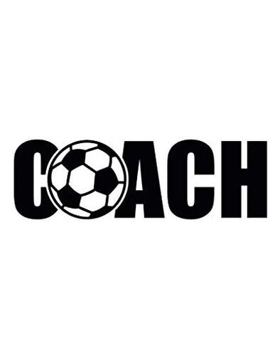 Custom Soccer Coach Decal Personalized Soccer Coach Gift-WickedGoodz