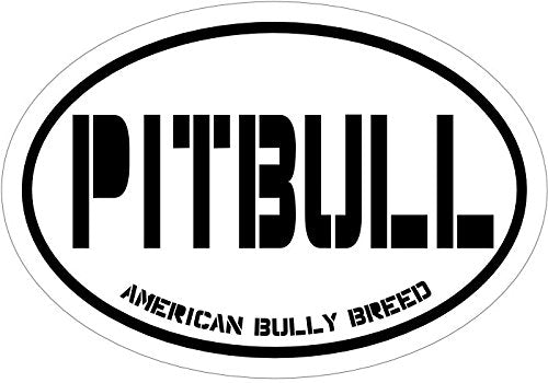 WickedGoodz American Bully Breed Pitbull Vinyl Window Decal - Dog Breed Bumper Sticker - Perfect Bully Breed Gift-WickedGoodz
