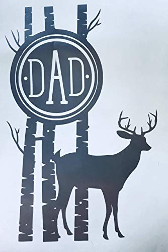 Custom Deer Monogram Vinyl Decal-WickedGoodz