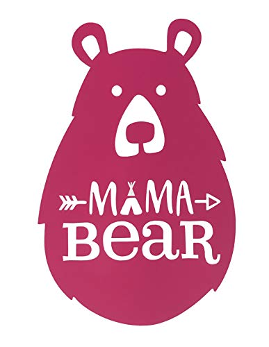 Custom Mama Bear Vinyl Decal - Momma Bear Bumper Sticker, for Tumblers, Laptops, Car Windows - Mothers Gift-WickedGoodz