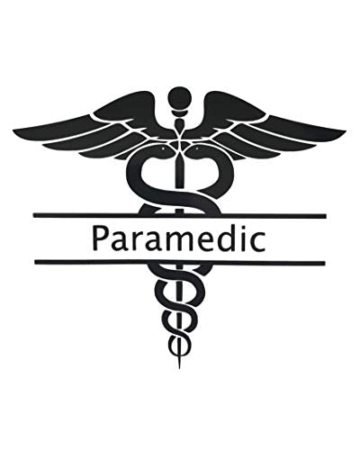 Custom Caduceus Paramedic Decal-WickedGoodz
