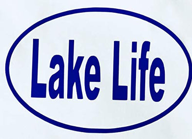 Custom Lake Life Vinyl Decal-WickedGoodz