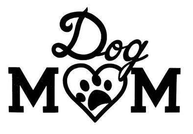 Custom Dog Mom Pet Paw Decal-WickedGoodz