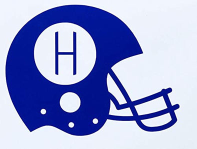 Custom Football Helmet Vinyl Decal-WickedGoodz