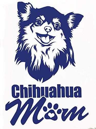 Custom Chihuahua Mom Vinyl Decal-WickedGoodz