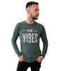Plant Vibes Long Sleeve - Faded Green (Unisex)