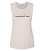 Unapologetically Vegan Muscle Tank (Womens)
