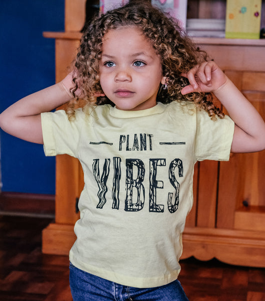 Plant Vibes Toddler Tee
