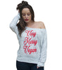 Very Merry Vegan Slouchy Long Sleeve