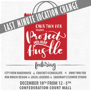 Events Project Holiday Hustle at The Confederation Court Mall