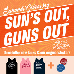 Sun's out, Guns out! Summer Release