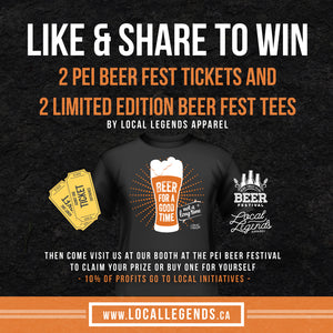 2017 PEI Beer Festival Partnership
