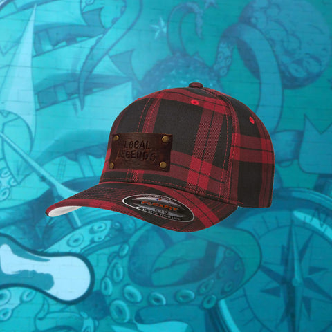 Plaid Flexfit Hat