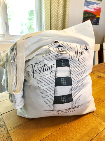 Maritime Made Canvas Tote