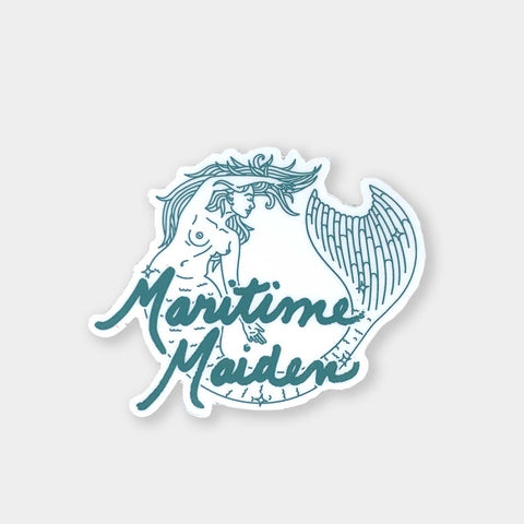 Maritime Maiden Sticker