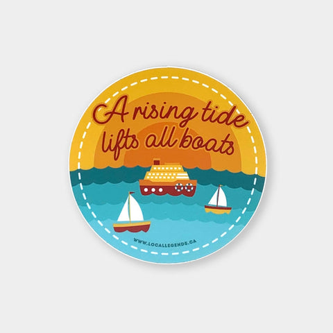 Rising Tide Sticker