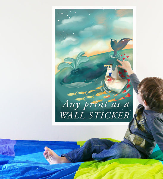 Wall Chart of Your Choice as a WALL STICKER