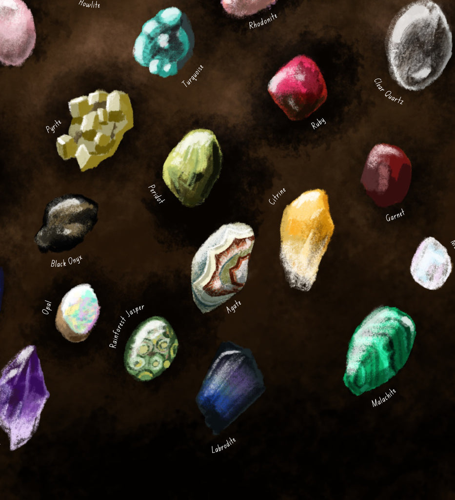 Gems and Crystals poster