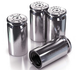 Ewart Tactical .40 Caliber Valve Stem Caps (Silver)