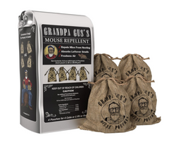 Grandpa Gus's Natural Rodent Repellent Pouches - 4 Pack