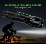 LED Tactical Flashlight - Powerful Waterproof Flashlight