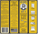 Grandpa Gus's Natural Spider Repellent Spray - Indoor Ants (8oz)