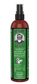 Grandpa Gus's All Natural Squirrel & Chipmunk Repellent Spray, 8 oz