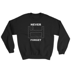 Floppy Disc Never Forget Sweater