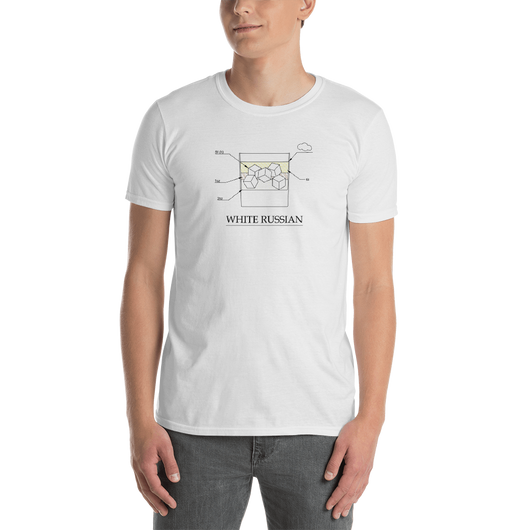 White Russian White T-Shirt