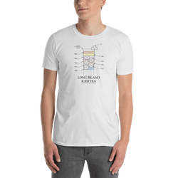Long Island Iced Tea White T-Shirt