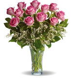 Make Me Blush Rose Bouquet - Two Dozen Roses