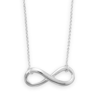 Infinity Sterling Necklace