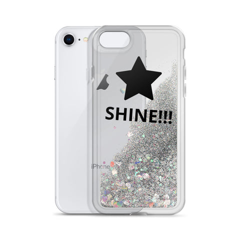"""SHINE!!!"" Liquid Glitter Phone Case"