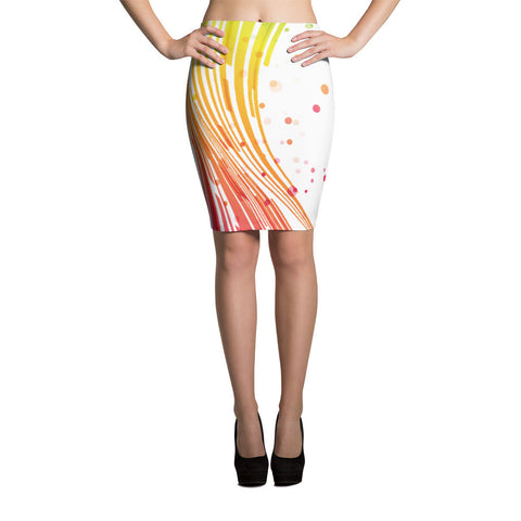 Half Spectrum Pencil Skirts