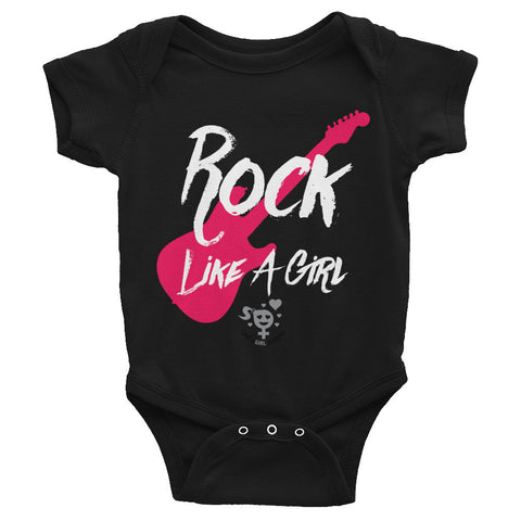 Rock Like A Girl Infant Bodysuit