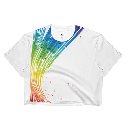 Spectrum Ladies Crop Top