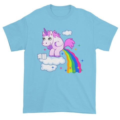 Unicorn Goes Number Two short Sleeve T-shirt