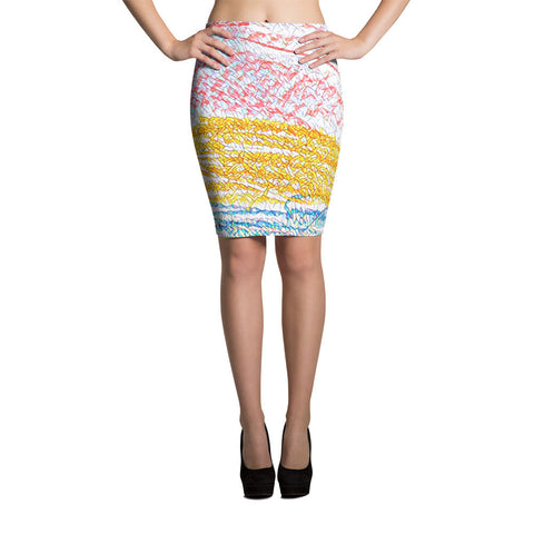 Dream Colors Pencil Skirts