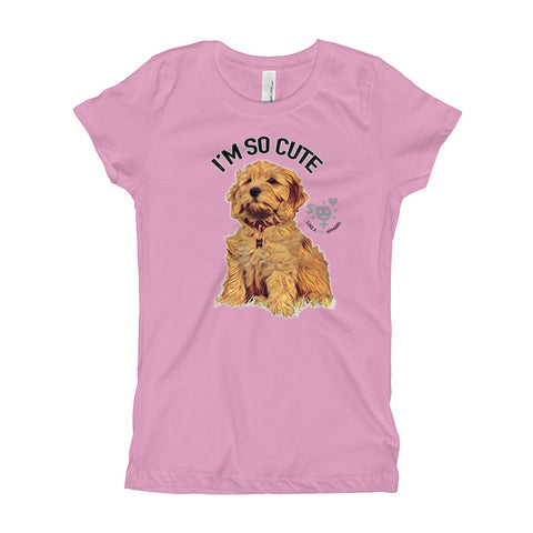 I'm So Cute Girl's T-Shirt