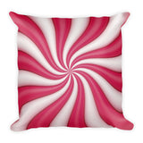 Mint Candy Square Pillow