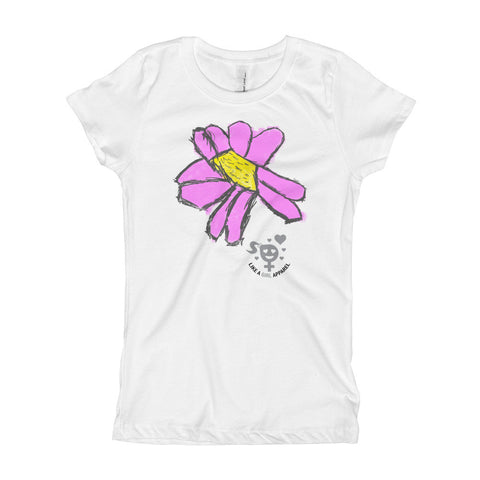 Flower Your World Girl's T-Shirt
