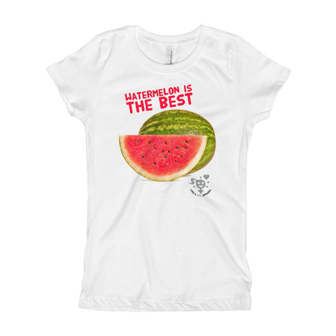 Watermelon Is The Best Girl's T-Shirt