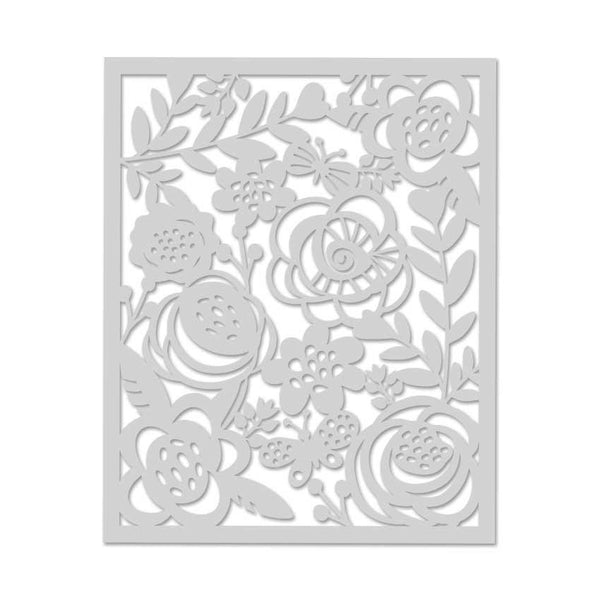 Bold Floral Stencil-Craft.ph