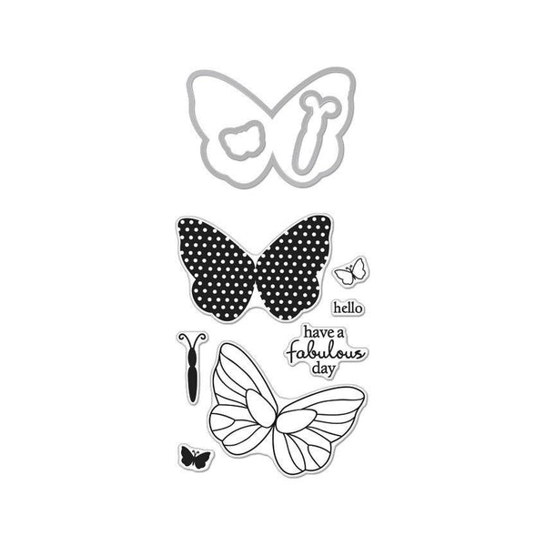 Butterflies Stamp & Cut-Craft.ph