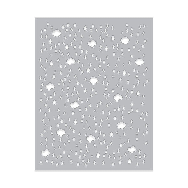 Cloud & Raindrop Confetti Fancy Die-Craft.ph