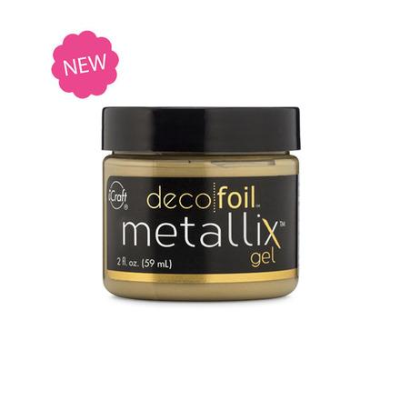 Deco Foil Metallix Gel 2oz-Craft.ph