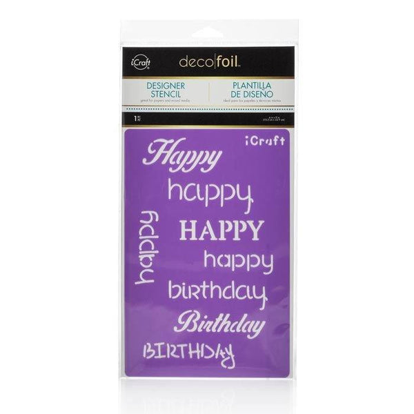 Deco Foil™ Happy Stencil-Craft.ph
