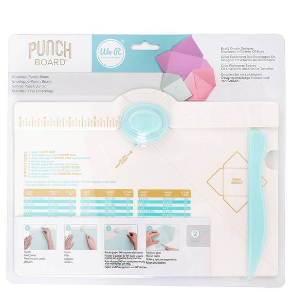 Envelope Punch Board-Craft.ph