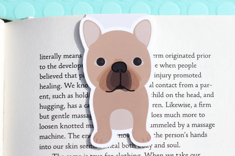 French Bull Dog (Frenchie ) Magnetic Bookmark-Craft.ph