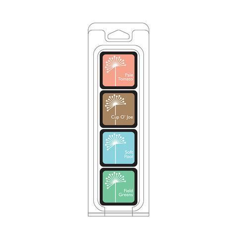 Hero Art's Cube Ink Pads, 4 packs-Craft.ph